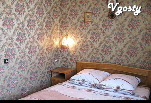 "2-x com. apartment near the restaurant ""Golden Dragon"" with  - Apartments for daily rent from owners - Vgosty"