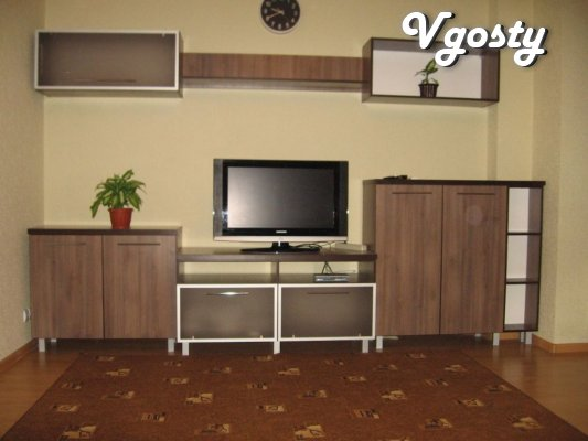 One bedroom apartment in a new building on the avenue of the Renaissan - Apartments for daily rent from owners - Vgosty