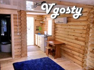 Rent an environmentally friendly log cabin in the Crimea, Alupka - Apartments for daily rent from owners - Vgosty