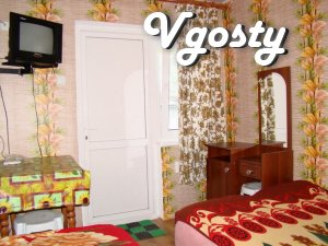 Rooms on the Embankment, 10 meters from the sea - Apartments for daily rent from owners - Vgosty