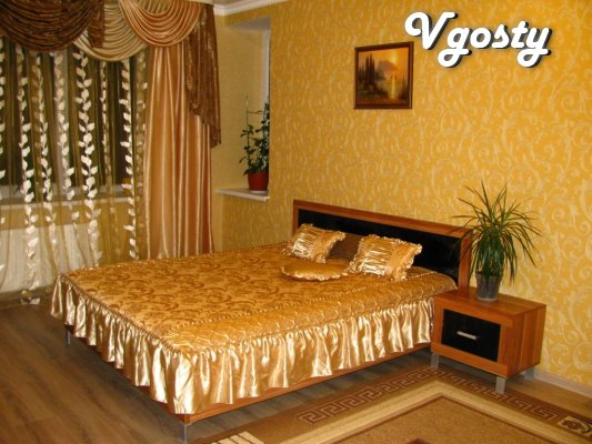 Rent uyutnuyu 1-room apartment with Wi-Fi - Apartments for daily rent from owners - Vgosty
