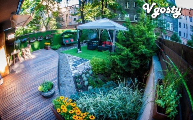 Additional Square for residential space BOL'SHAIa porch and yard - Apartments for daily rent from owners - Vgosty