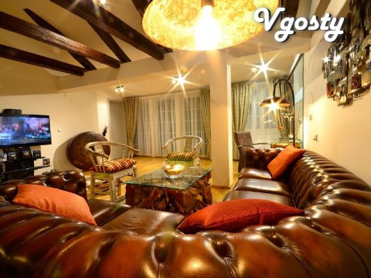 Neveroyatno Beautiful and gully pyatykomnatnaya apartment for rent - Apartments for daily rent from owners - Vgosty