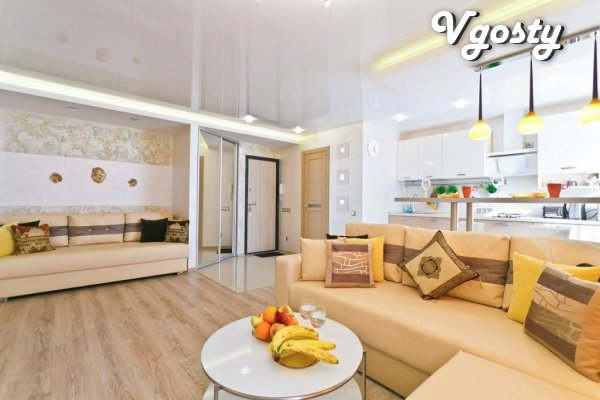 Bezuprechnoho vkusa posutochnoy design apartments in the city center - Apartments for daily rent from owners - Vgosty