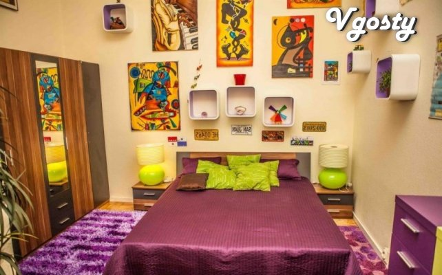 The apartment is an art object - Apartments for daily rent from owners - Vgosty