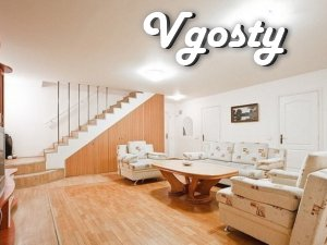 The bright, modern two-level apartment in the city center - Apartments for daily rent from owners - Vgosty