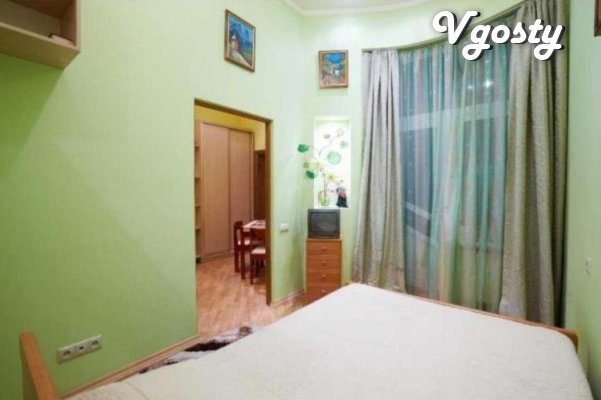 Quiet, central street of the city - Apartments for daily rent from owners - Vgosty