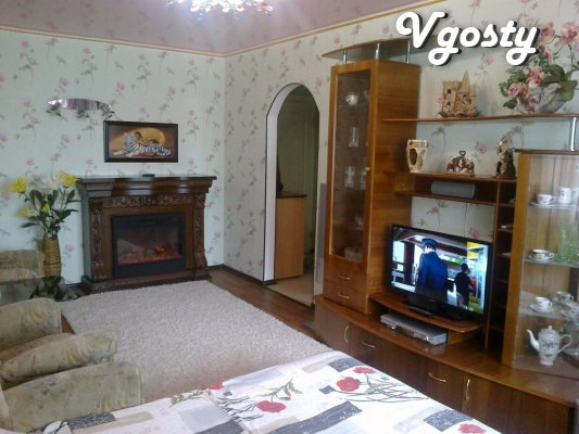 Rent 1k / a renovated room with a fireplace at Sea Victory Park 10 min - Apartments for daily rent from owners - Vgosty