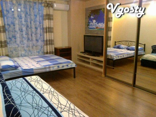 1k / a new building near the sea Victory Park 7 min.peshkom - Apartments for daily rent from owners - Vgosty