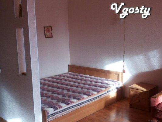 1-кім. квартира в Центрі з ремонтом - Квартири подобово без посередників - Vgosty