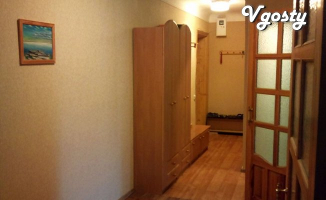 Near the railway station, Pogranakademii, city hospital - Apartments for daily rent from owners - Vgosty