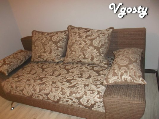 The new apartment in the city center near Panorama Plaza 4 people. Wi- - Apartments for daily rent from owners - Vgosty