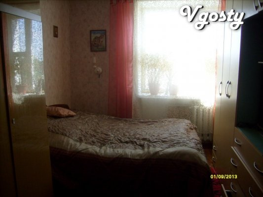 The apartment is in a park area near the center, the castle, park, riv - Apartments for daily rent from owners - Vgosty