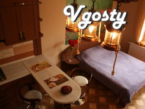 Studio + Patio in Austrian Lwiv - Apartments for daily rent from owners - Vgosty