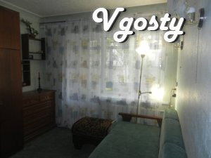 Cozy apartment in the center of Berdyansk, rent - Apartments for daily rent from owners - Vgosty