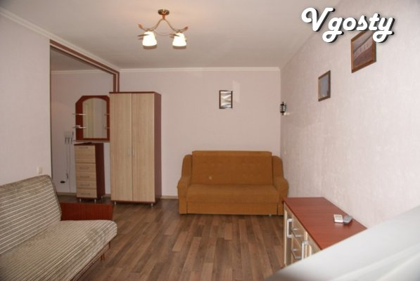 Studio apartment, new furniture, repair - Apartments for daily rent from owners - Vgosty