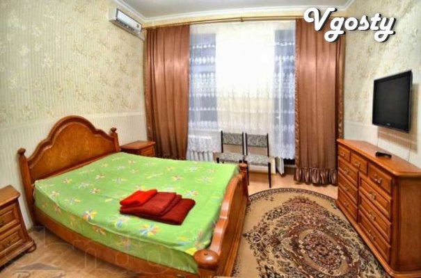 The apartment is in the center of the newly renovated luxury - Apartments for daily rent from owners - Vgosty