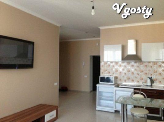 1к комнатная-студия на первой линии домов до моря - Apartments for daily rent from owners - Vgosty