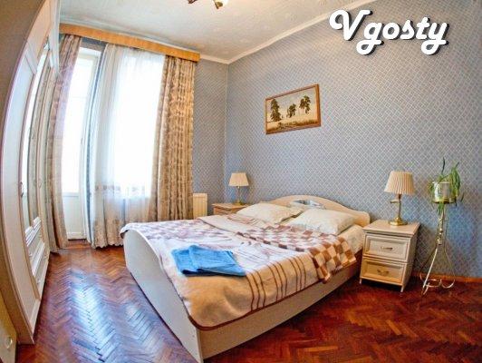 Bezuprechnaya trehkomnatnaya apartment for 7 man - Apartments for daily rent from owners - Vgosty