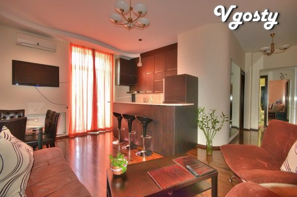 Trehkomnatnaya apartment with views horodskuyu roskoshnыm Square - Apartments for daily rent from owners - Vgosty