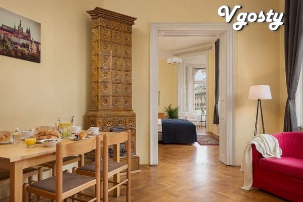 Spacious apartment (four rooms) on a large square of the city - Apartments for daily rent from owners - Vgosty