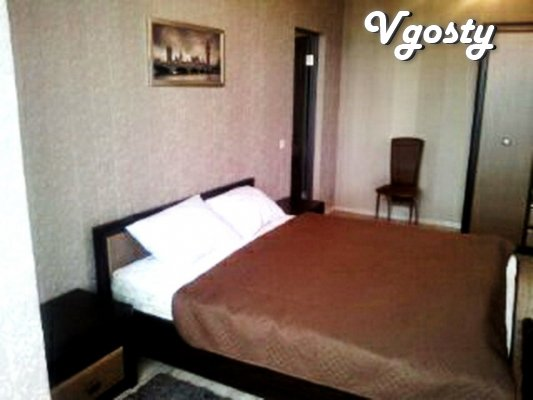 2-room apartment in the center with WIFI 700m from the pump room - Apartments for daily rent from owners - Vgosty