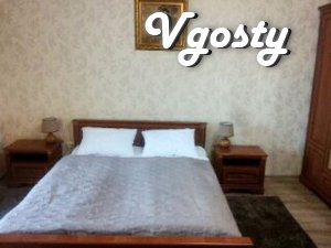 Nice apartment 700m from the pump-room - Apartments for daily rent from owners - Vgosty