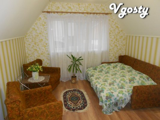 Rent a private house near the thermal swimming pools - Apartments for daily rent from owners - Vgosty