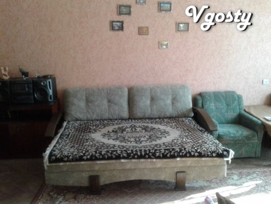 Rent 1 bedroom apartment in the center mista.Pobutova, cable - Apartments for daily rent from owners - Vgosty
