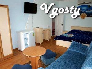 Комфортабельний відпочинок, міні-готель NAAZOVE 50 м від моря - Квартири подобово без посередників - Vgosty