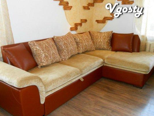 Єvrokvartira on Dobou, Tyzhden, mіsyats. Mіryuschenka - Apartments for daily rent from owners - Vgosty