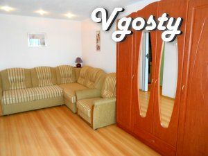"Zatishna apartment bilja avtostantsії ""The Seagull"" - Apartments for daily rent from owners - Vgosty"