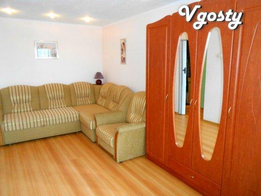 "Zatishna apartment bilja avtostantsії ""The Seagull"" - Apartments for daily rent from owners - Vgosty"