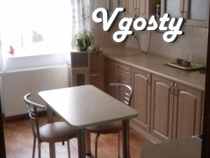 apartment in the center of the city, 3 minutes park, pump room, cozy p - Apartments for daily rent from owners - Vgosty