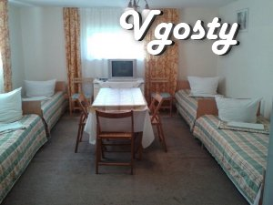3 4hmisni and rooms for rent. 500 meters from the pool tёrmalnoho - Apartments for daily rent from owners - Vgosty