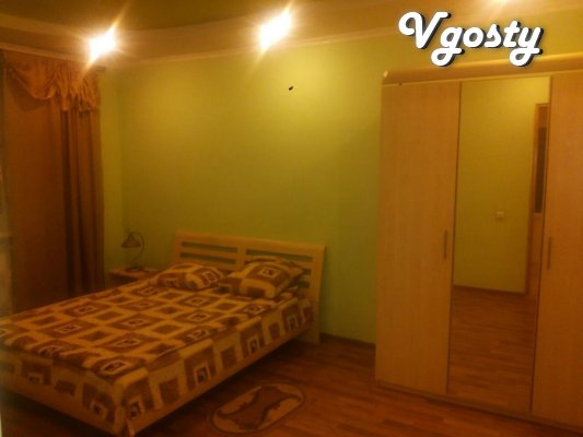 center one or two-bedroom apartment with wi-fi - Apartments for daily rent from owners - Vgosty