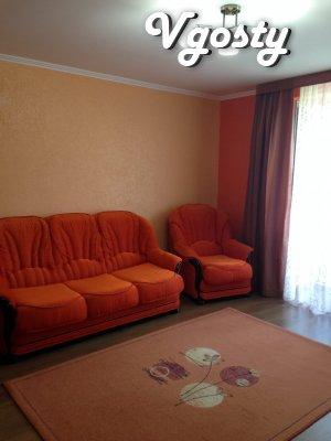 VIP-Однокімнатна квартира біля ринку - Квартири подобово без посередників - Vgosty