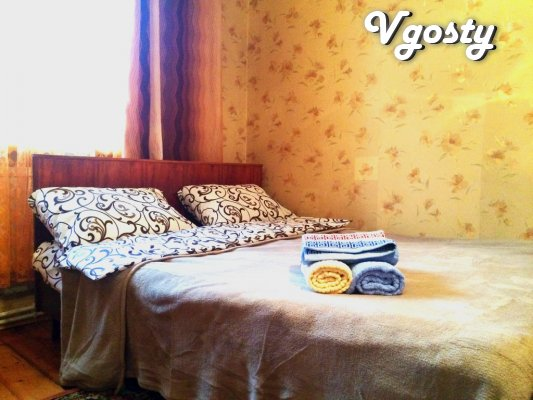 2-room. Apartment in the center, st. Khmelnitsky, near the Railway - Apartments for daily rent from owners - Vgosty
