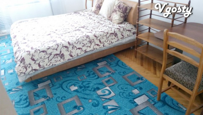 two-room apartment in the center of Chernivtsi - Apartments for daily rent from owners - Vgosty