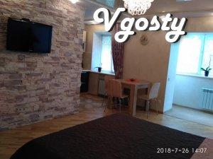 однокімнатна квартира в центрі міста - Apartments for daily rent from owners - Vgosty