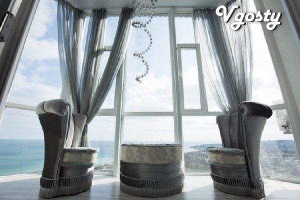 1k.VIPkv studio, daily, komissiya0% Chernomorsk (Il'ichevsk), WI-FI. - Apartments for daily rent from owners - Vgosty