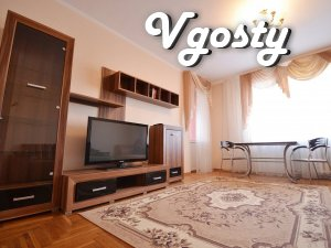 Daily apartment luxury class in the city center! - Apartments for daily rent from owners - Vgosty