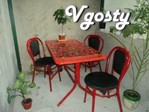 Будиночок з беседочкой на 3-х чол до моря 10 - Квартири подобово без посередників - Vgosty