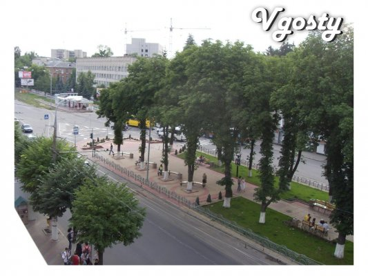 Cozy square in the center inexpensively - Apartments for daily rent from owners - Vgosty