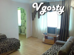 Dneprodzerzhinsk rent 3 room - Apartments for daily rent from owners - Vgosty