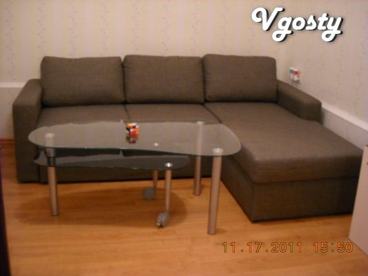 1 bedroom st. Korolenko, Dnipro Arena, - Apartments for daily rent from owners - Vgosty