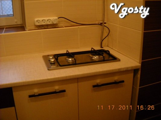 The apartment is on the street. Korolenko, Dnepropetrovsk-center, dist - Apartments for daily rent from owners - Vgosty
