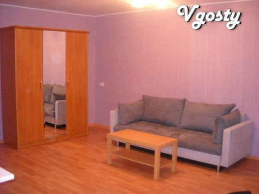 2 x accommodation komnatnaya Substation, Gagarin Duffy. Headquarters - - Apartments for daily rent from owners - Vgosty
